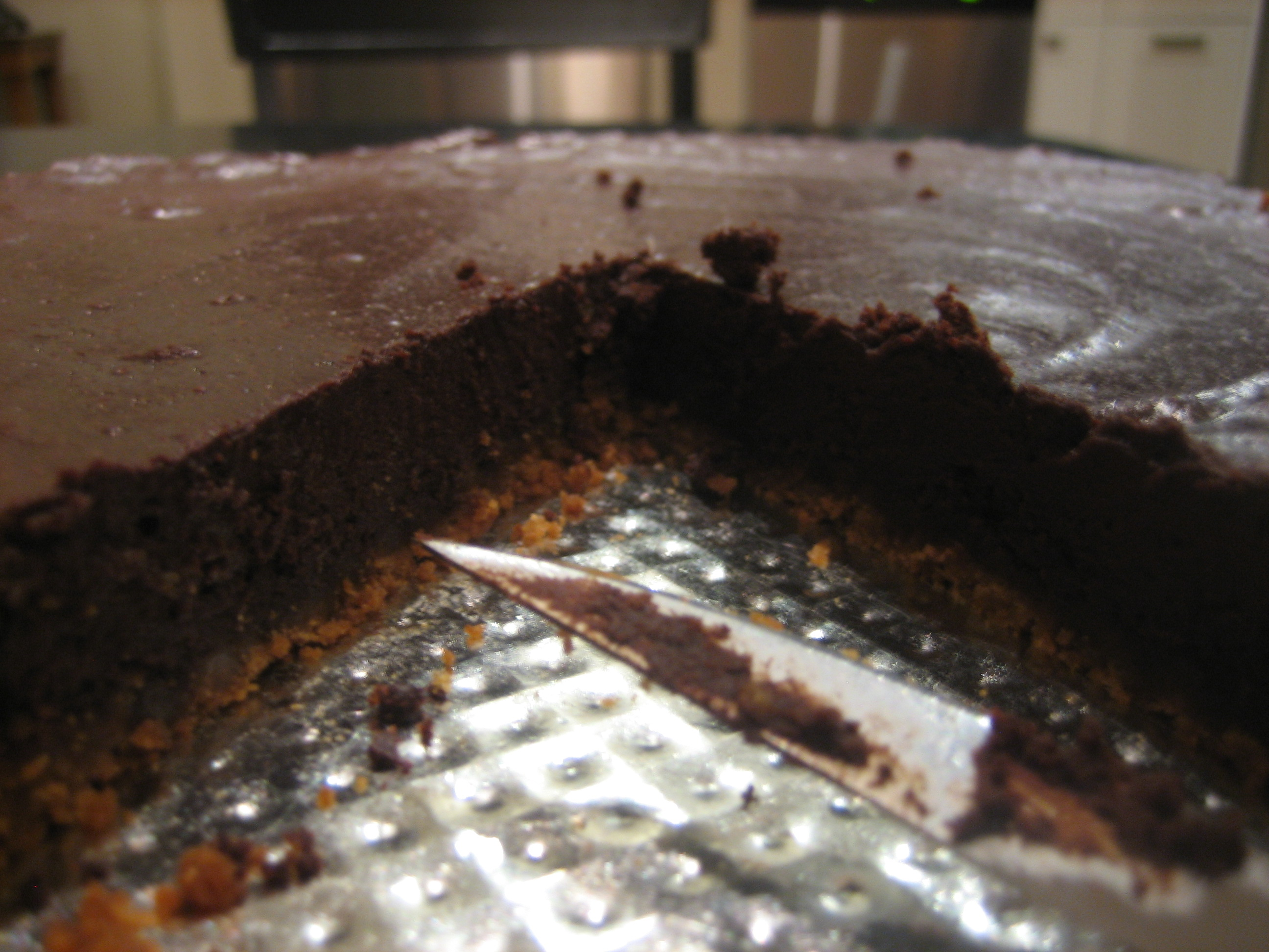 Dark Chocolate Tart With Gingersnap Crust Recipes — Dishmaps