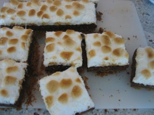 S Mores Brownies Amp Peanut Butter Blondies What S Cooking