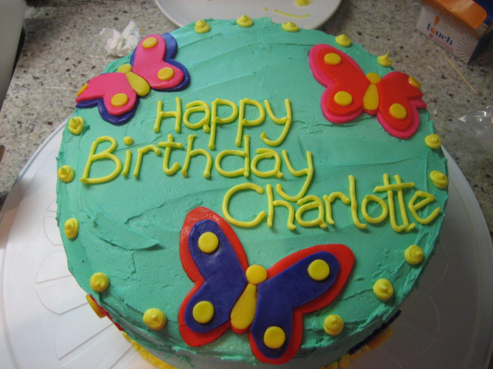 Charlottes 3rd Birthday Cake