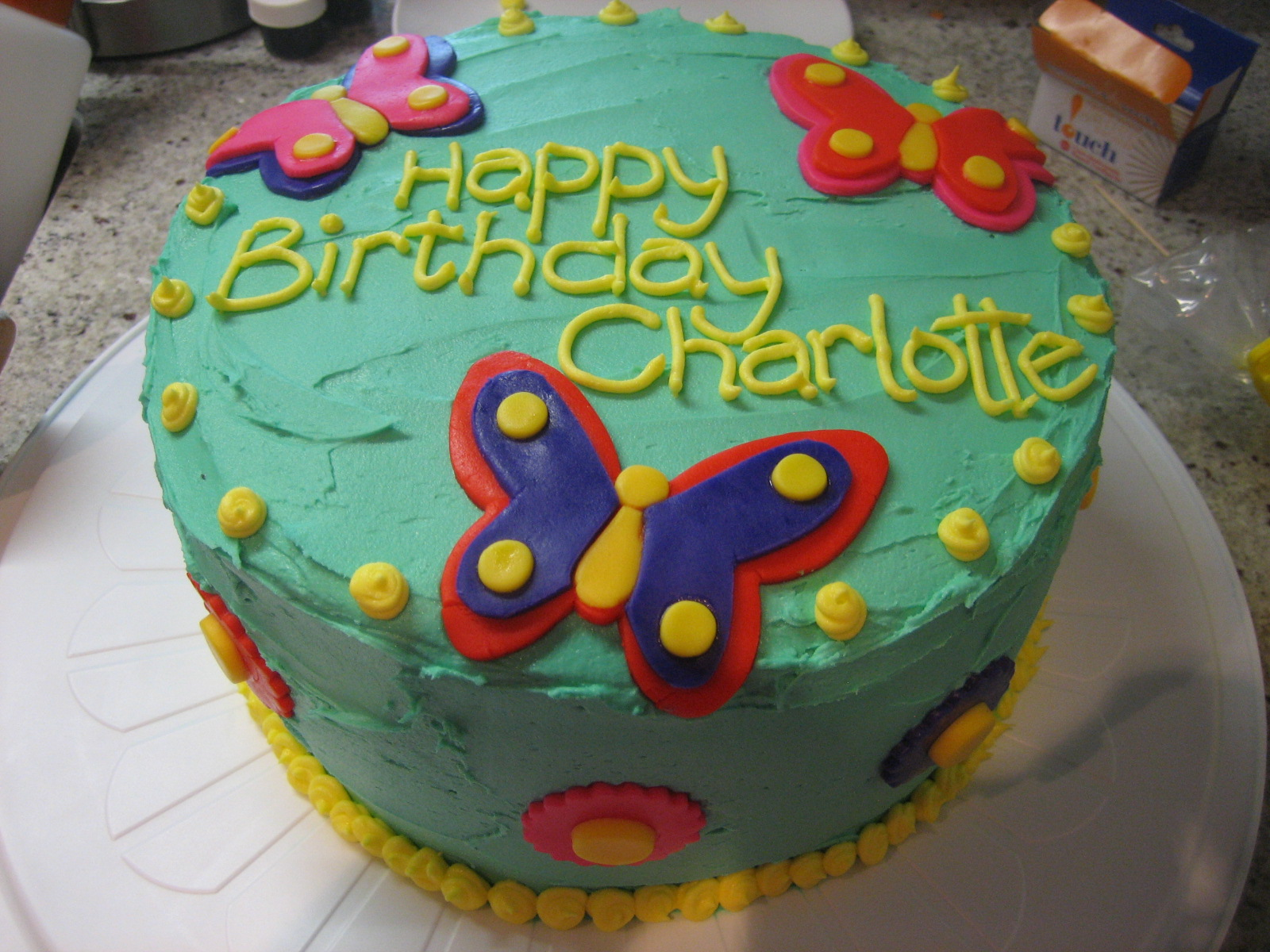 Charlotte S 3rd Birthday Cake What S Cooking On Planet Byn