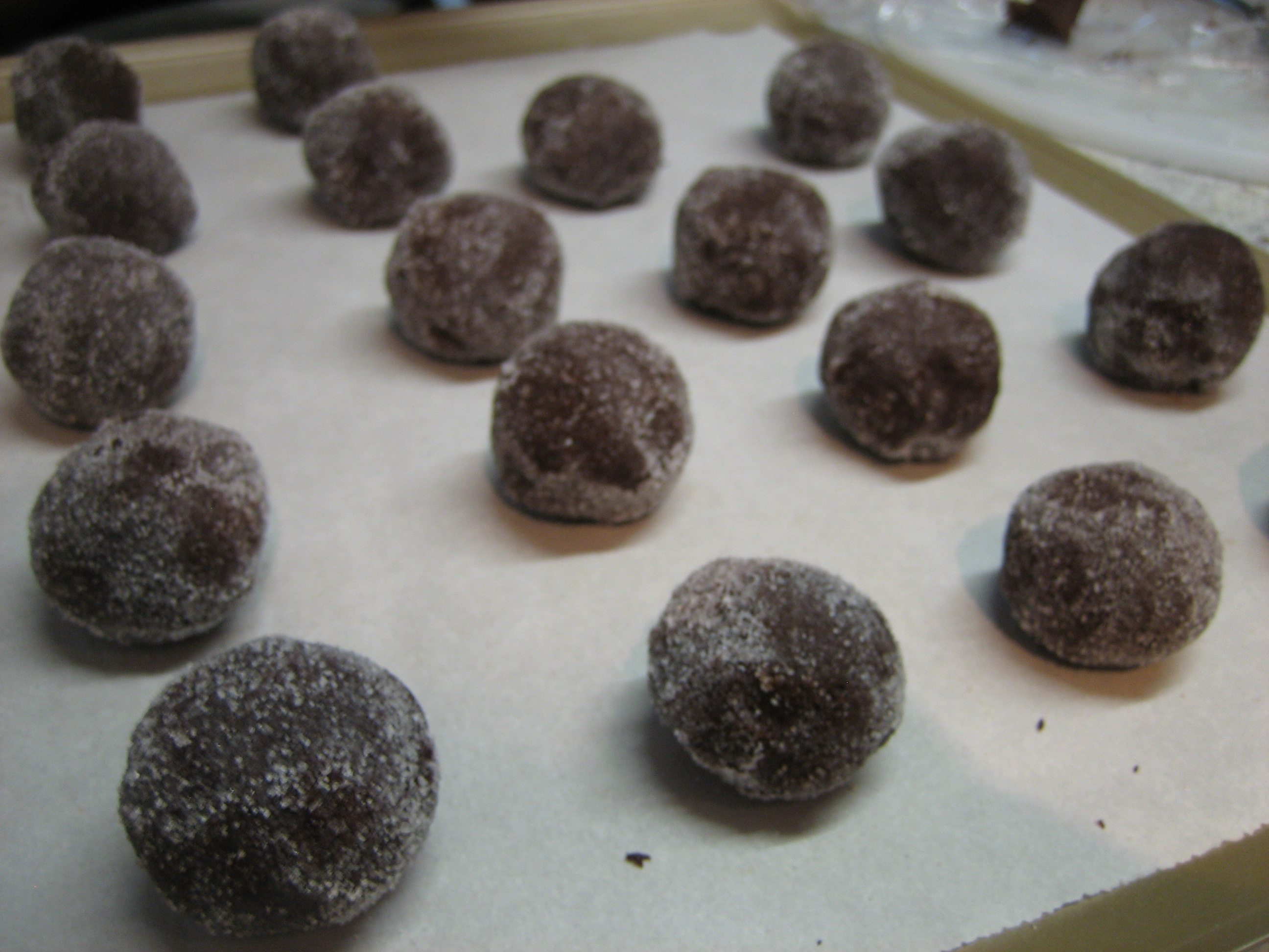 Chocolate Mint Thumbprints — What's Cooking on Planet Byn