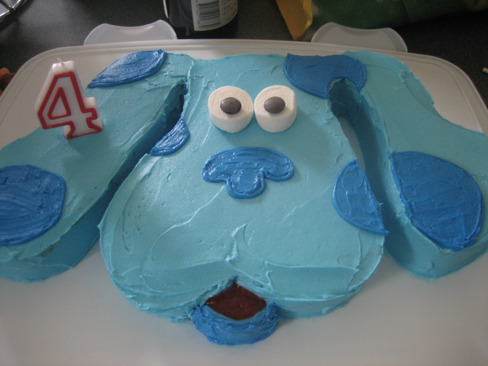 Blue S Clues Birthday Cake S Mores On A Stick What S