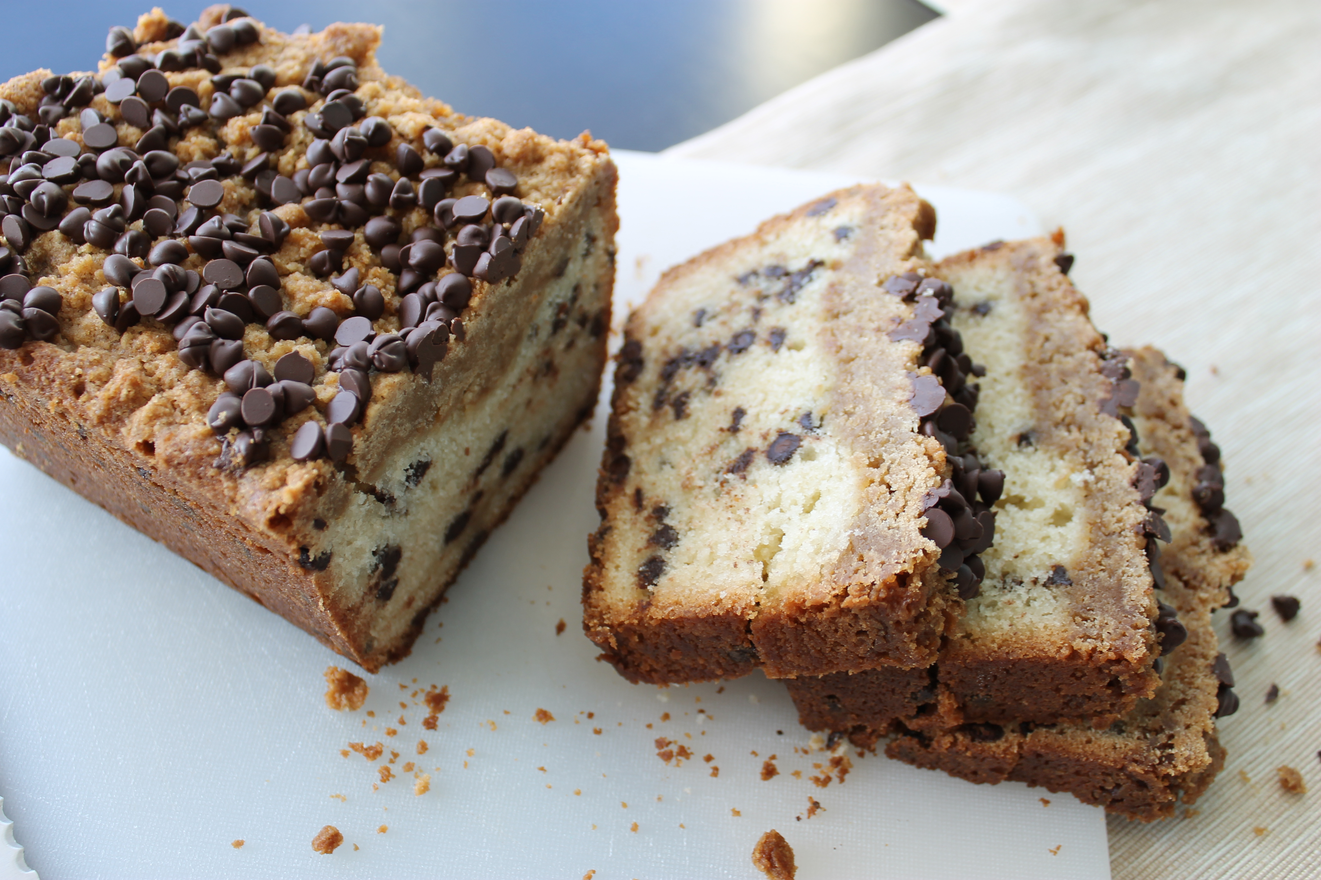 Chocolate Chip Banana Bread Coffee Cake