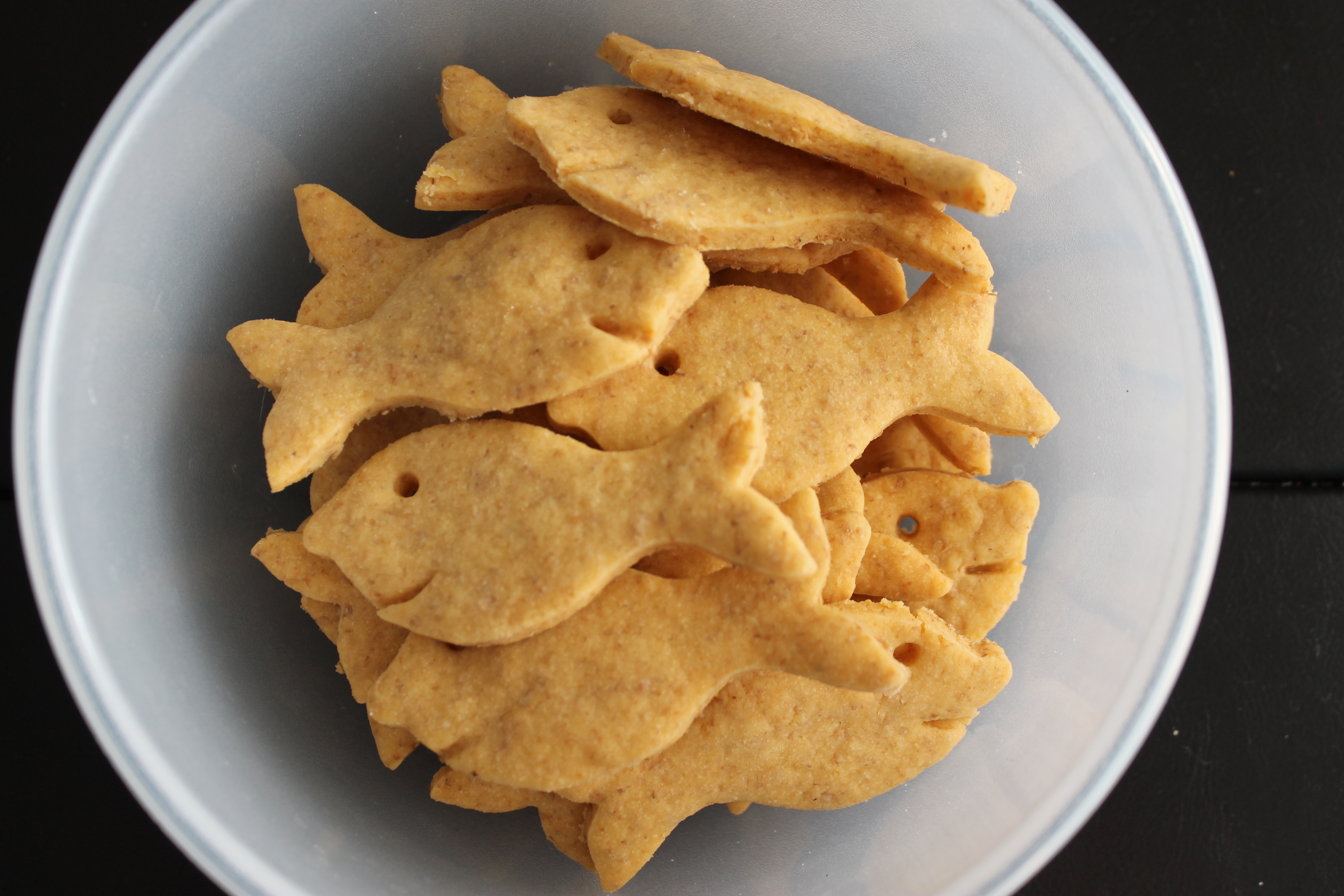 Whole Wheat Goldfish Crackers — What's Cooking on Planet Byn
