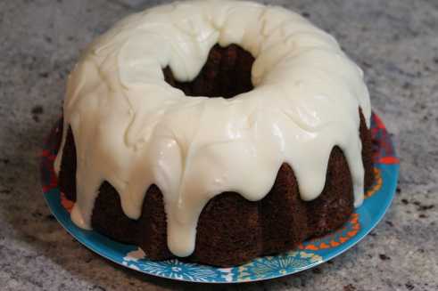 Kitchen Sink Carrot Cake