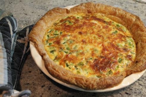 Leek & Asparagus Quiche