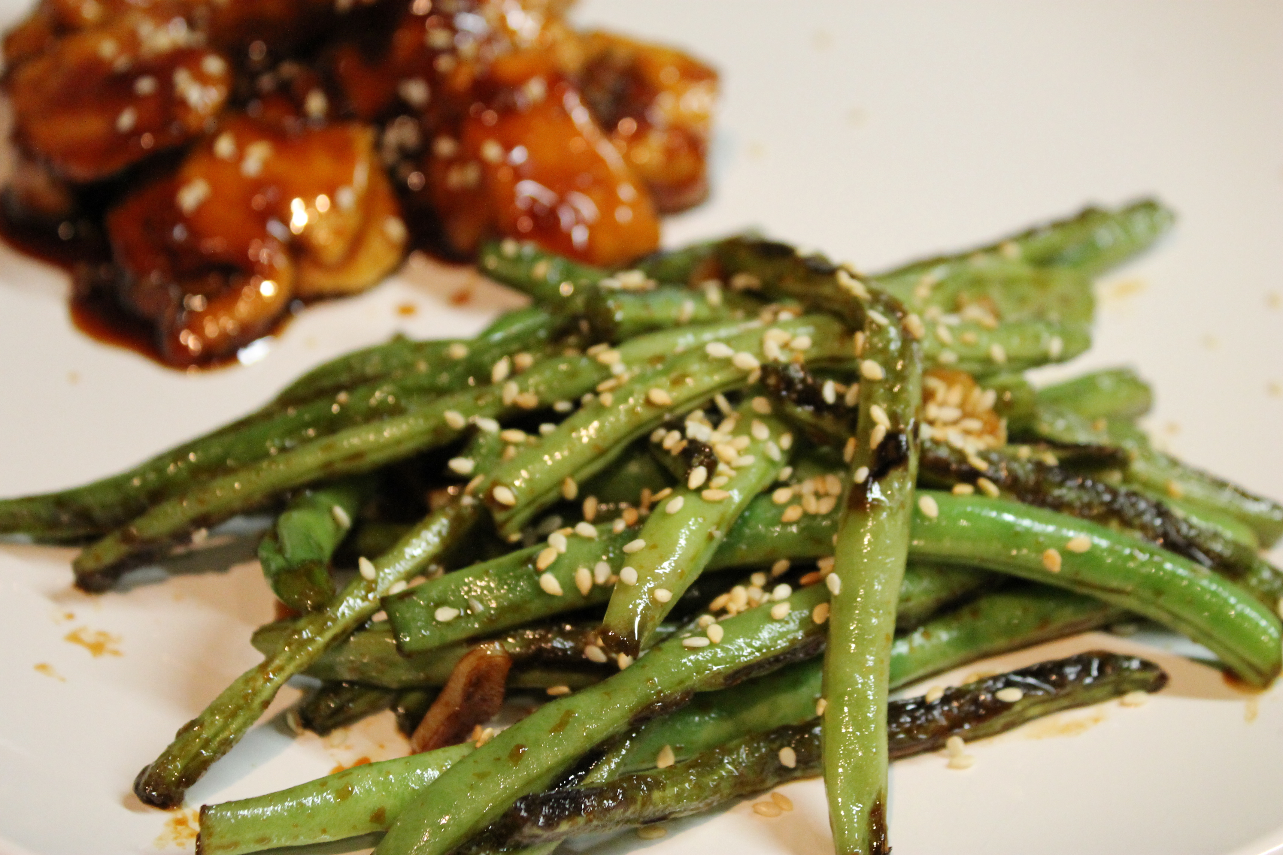 Sweet & Spicy Green Beans — What's Cooking on Planet Byn