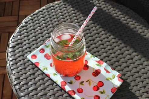 Fresh Cherry Mojito