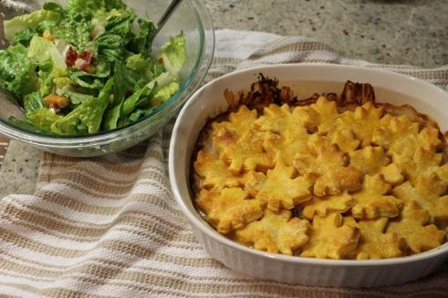 Chicken & Bacon Pot Pie